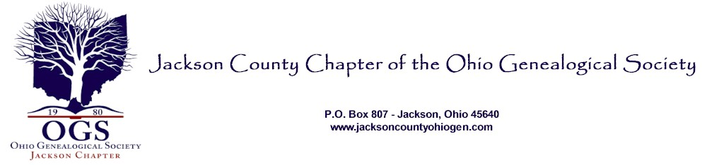 Jackson County Chapter of the Ohio Genealogical Society